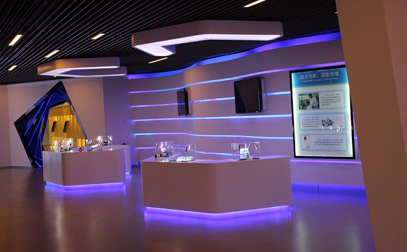 龙8国际官网|唯一官网健帆生物展厅