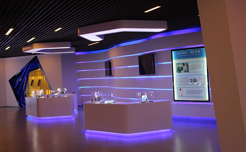 龙8国际官网|唯一官网健帆生物展廳